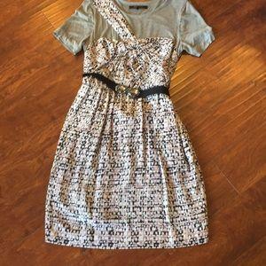 Tee Shirt Silk Dress